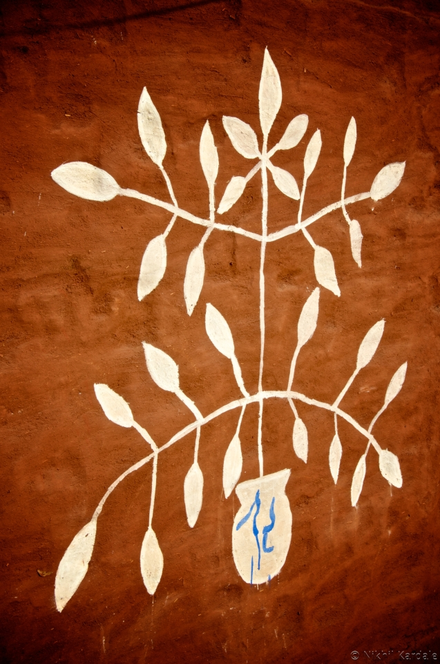 Wall Painting - The Tree of Life
