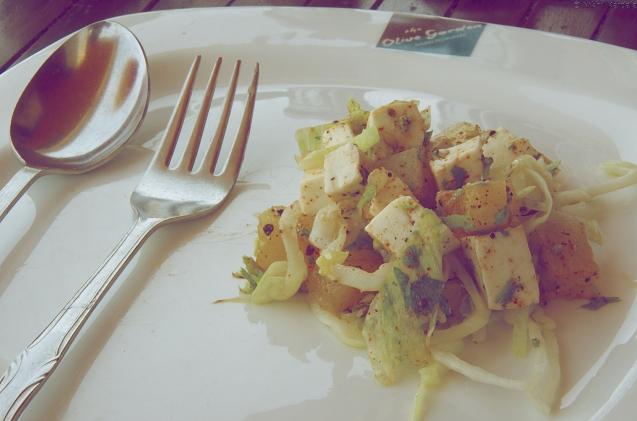 Breakfast Salad, Vintage Style