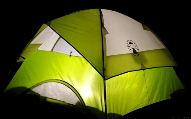 Camping at Kashid - Tent