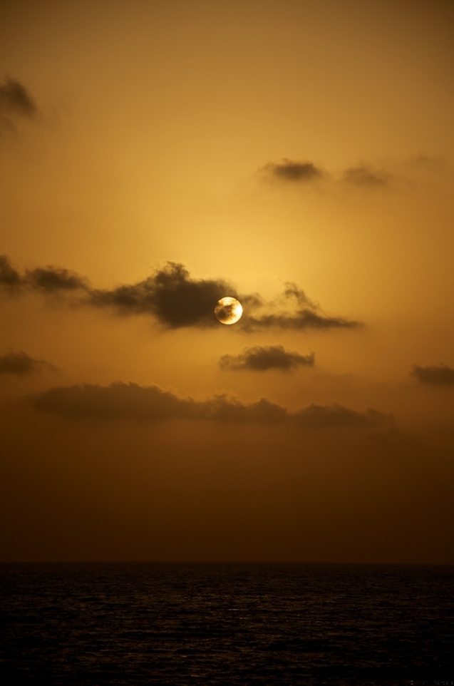Eclipsing the Sunset