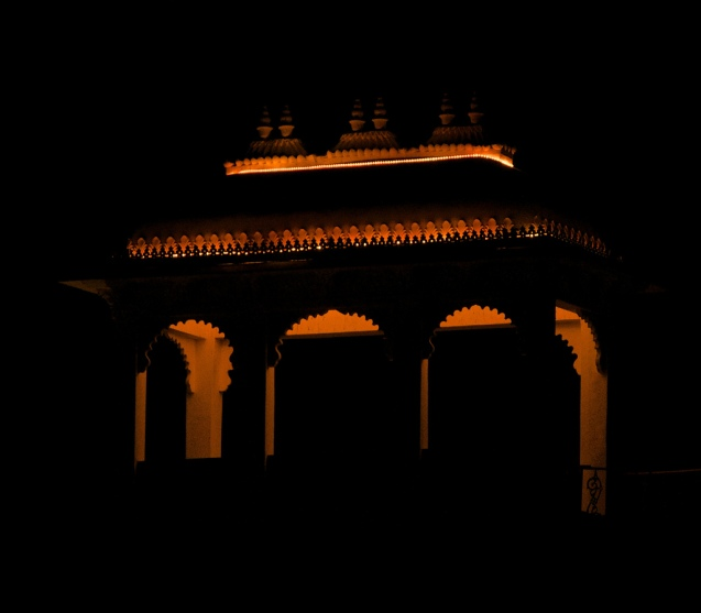 Silhouette of Rajasthan