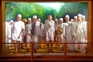 gandhijis salt satyagraha In practice, satyagraha was a focused and forceful nonviolent resistance to a particular injustice a satyagrahi (a person using satyagraha) would resist the injustice by refusing to follow an unjust law.